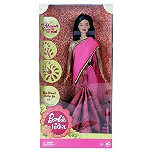 Mattel Barbie In India Doll Pink