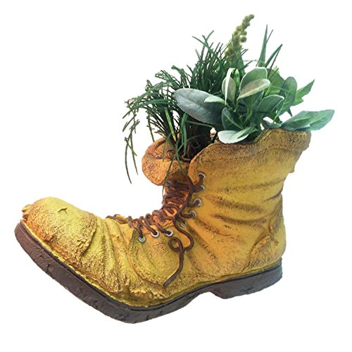 HomeStyles Toad Hollow Extra Large Old Boot Planter 10