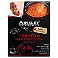Ainsley Harriott Tomato & Grilled Pepper Cup Soup 96g