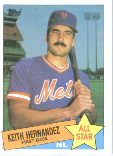 Check Out 1985 Topps Baseball Card 712 Keith Hernandez As