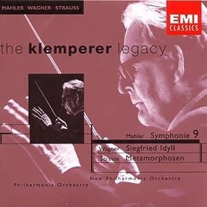 Mahler: Symphony No. 9 / Wagner: Siegfried Idyll / Strauss: Metamorphosen
