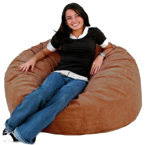 Great Deals Cozy Sack Bean Bag Chair Rust Medium 3