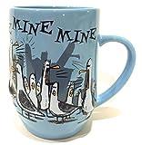 Disney Parks Finding Nemo Seagull Mine Ceramic Mug Cup Blue NEW