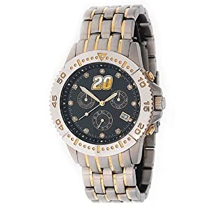 NASCAR Mens NL-STE Legend Series Tony Stewart Black Dial Watch by Game Time