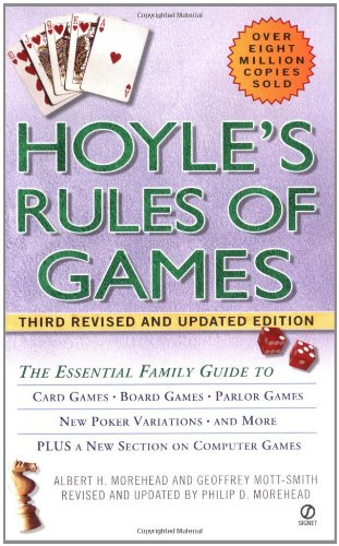 Hoyle's Rules of Games: The Essential Family Guide to Card Games, Board Games, Parlor Games, New Poker Variations, and More (Poker Games Book compare prices)