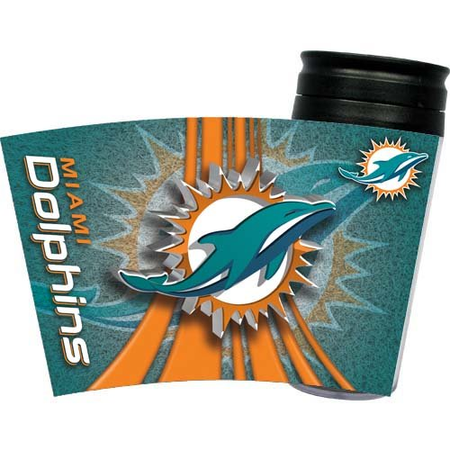 Miami Dolphins Insulated Travel Mug