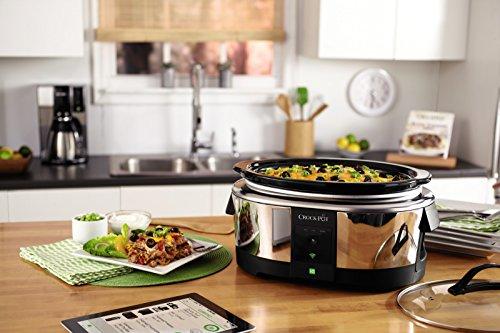 Crock Pot Smart Wifi Enabled WeMo 6 Quart Slow Cooker