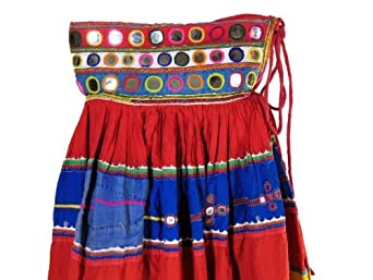 Vintage Tribal Belt Gypsy Belly Dance Long India Skirt