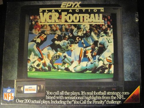 EPYX Play Action VCR Football