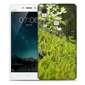Snoogg Clean Garden Designer Protective Phone Back Case Cover For Vivo V3 Max