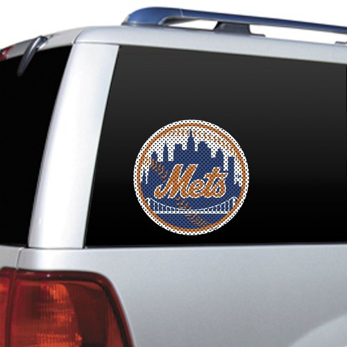 MLB New York Mets Die Cut Window Film (Ny Mets Window Decal compare prices)