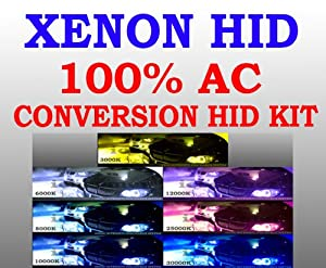 H8 12000K Hi Low Beam/ Fog Light Xenon Conversion Slim Ballast AC HID Kit Purple