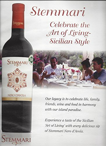 print-ad-for-2015-stemmari-nero-davola-wine-celebrate-the-art-of-living