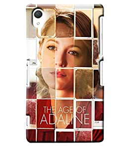Blue Throat The Age Of Adaline Effect Printed Designer Back Cover For Sony Xperia Z2