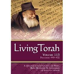 Living Torah Volume 113 Programs 449-452