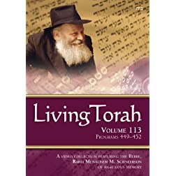 Living Torah Volume 113 Programs 449-452