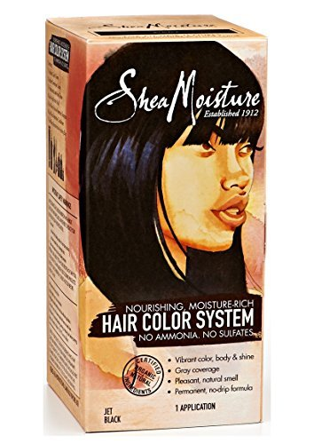 Shea Moisture Jet Black Hair Color System (Shea Moisture Dye compare prices)