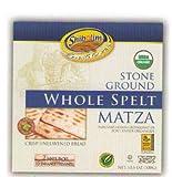 Healthy Whole Spelt Matzo Organic - Shibolim kosher