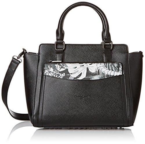 christian-lacroix-plaza-4-tasche-getragen-hand-schwarz-noir-noir-6d02-grosse-taille-unique