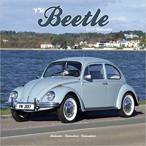 VW Beetle 2017 Wall Calendar
