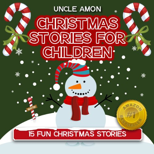 15 Fun Christmas Stories (FREE Coloring Book & Activities Included!)