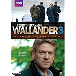 Wallander - Season 3: An Event in Autumn / Dogs of Riga / Before the Frost