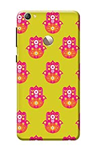 Le 1s Eco Cover, Premium Quality Designer Printed 3D Lightweight Slim Matte Finish Hard Case Back Cover for LeEco Le 1s Eco + Free Mobile Viewing Stand