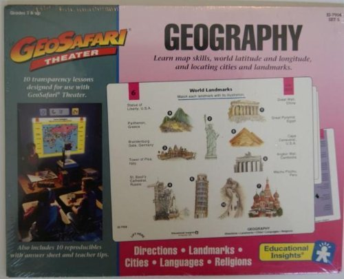 Geosafari Theater Geography Set of 10