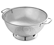 buy Bellemain Micro-Perforated Stainless Steel 5-Quart Colander-Dishwasher Safe