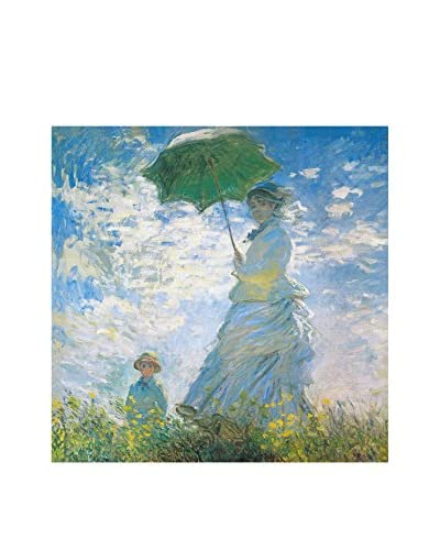 Foto Foto Canvas Donna Con Ombrello - Claude Monet