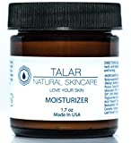 Talar Natural Skincare 100% Natural Mango Butter, Hyaluronate Face and Neck Cream with Super Moisturizing Properties with a Velvety Cream Base