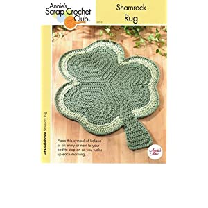 Crochet Spot » Blog Archive » Crochet Pattern: Simple Shamrock