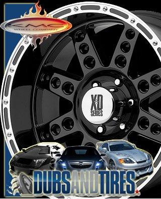 Xd Series Diesel Matte Blk/Mach 5X135 +0Mm - 18X9