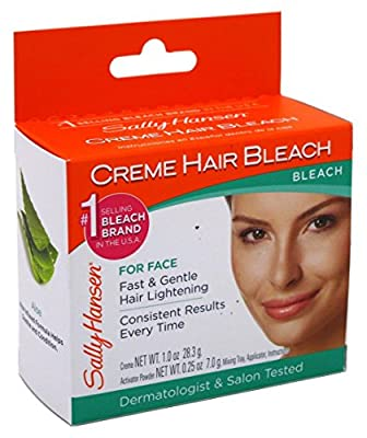 Sally Hansen Creme Hair Bleach For Face (3 Pack)