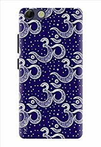 Noise Designer Printed Case / Cover for Panasonic P55 Novo / Festivals & Occasions / Chant Om Design