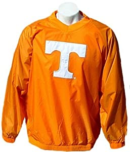 Tennessee Volunteers NCAA Unlined V-Neck Pullover Windjacket By Adidas by adidas