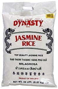 Amazon.com : Dynasty Jasmine Rice, 20-Pound : Dried
