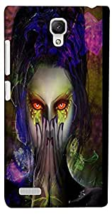 PrintVisa Abstract Girl Case Cover for Xiaomi Redmi Note/Note 4G