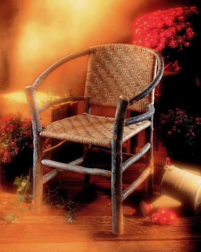 Rustic Two Hoop Chair by Old Hickory (Old Hickory Furniture compare prices)
