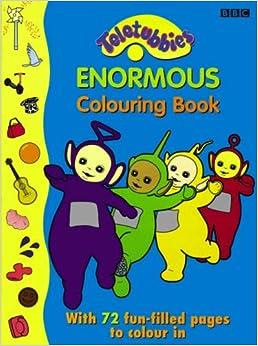 """Teletubbies"": Enormous Colouring Book: Na: 9780563476078"