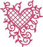 Cheery Lynn Designs Dies - Lattice Heart & Vines