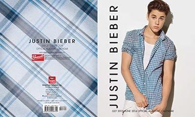 Justin Bieber 2013-14 Notebook Academic Planner