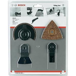 Bosch 2608661695 Set de 4 pièces pour carrelage
