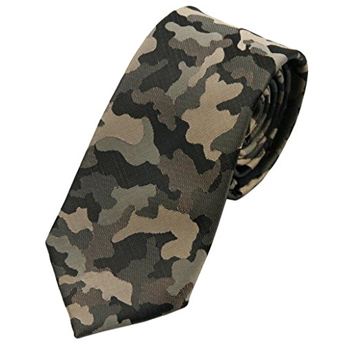 GAMT Fashion Camouflage Neckties Tie for Men Women Green (Camo Neck Ties compare prices)
