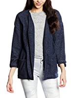 Cortefiel Chaqueta Knit Kimono (Azul)