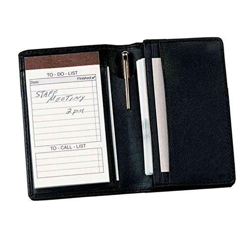 royce-leather-deluxe-note-jotter-organizerblackone-size