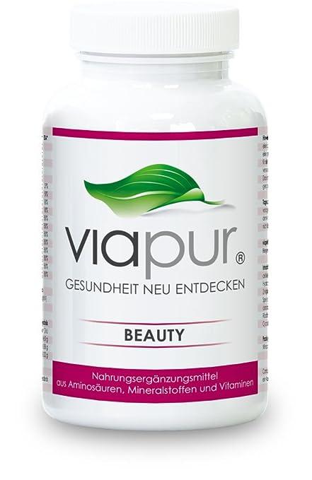 viapur® BEAUTY - 120 Kapseln, Aminosäuren, Mineralstoffe und Vitamine