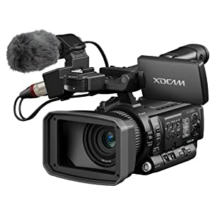 """Sony PMW100 One 1/2.9"""" Exmor CMOS XDCAM HD422 Handy Camcorder, 3.5"""" LCD Screen, 10x Zoom Lens, HD-SDI & HDMI Outputs (Discontinued by Manufacturer)"""