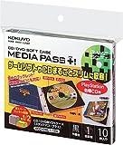 コクヨS&T CD/DVD用ソフトケース MEDIA PASS+ 1枚収容 10枚セット 黒 EDC-CML1-10D