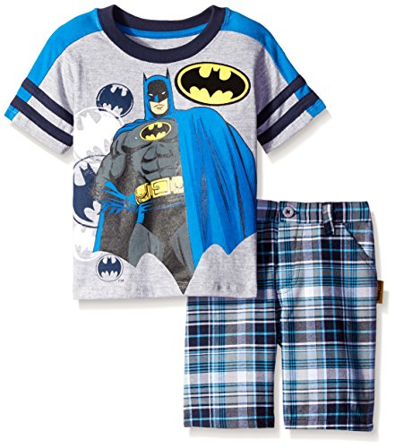 Batman Boys' 2pc Tee and Short Set at Gotham City Store